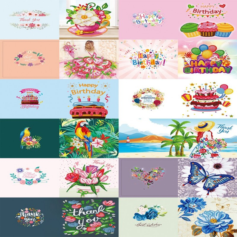12x Greeting Cards
