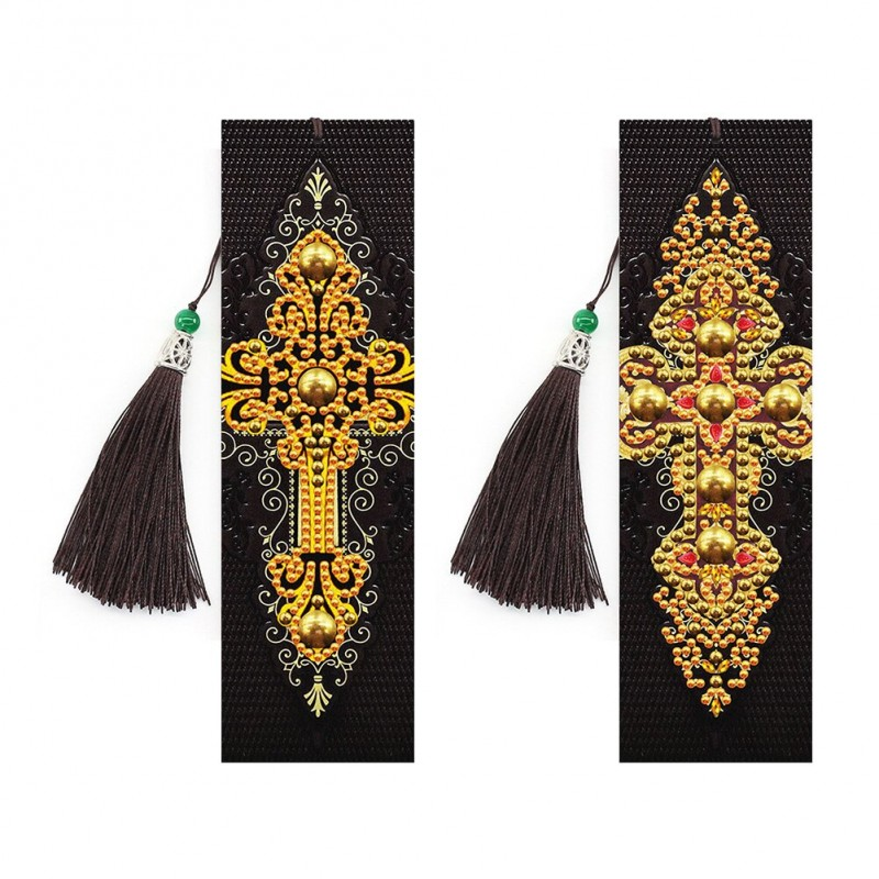 2x Leather Bookmarks...