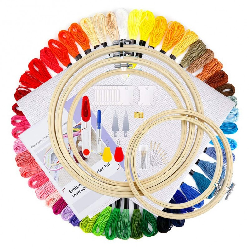 Embroidery Circles N...