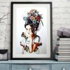 5D Butterfly Girl Full Drill Diamond Painting DIY Bead Art Mosaic Picture