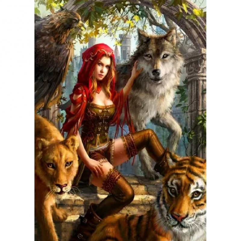 Women and Wolf - Ful...